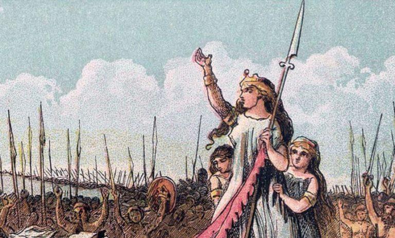 Boudika (ok. 30-ok. 61 n.e.) królowa Icenów