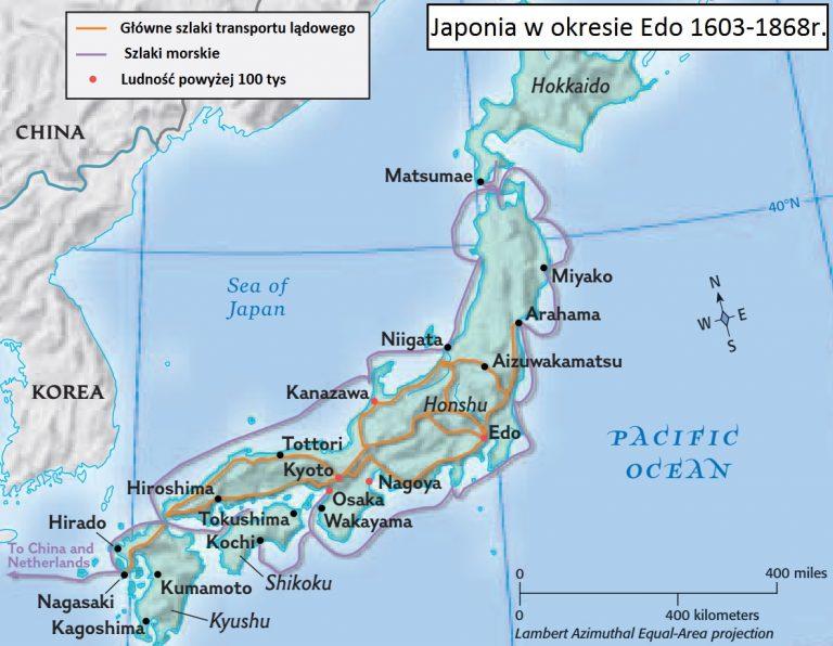 Japonia w okresie Edo 1603-1868r.