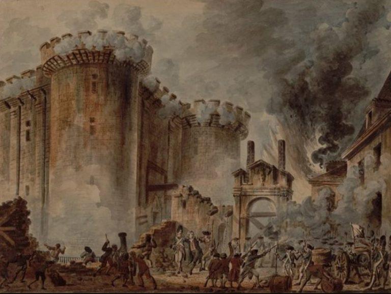 Rewolucja Francuska –  przejście do radykalizmu i ustanowienie Republiki Francuskiej