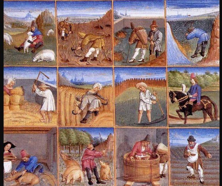 Zmiany w  produkcji żywności w Średniowieczu