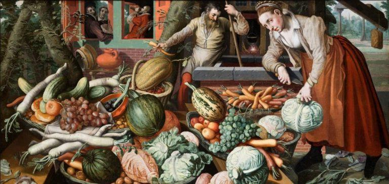 Produkcja żywności na świecie – 1450 do 1750